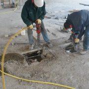 betonfrezen