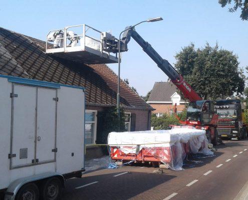 Asbesthoudend dak verwijderen Riethoven woonhuis